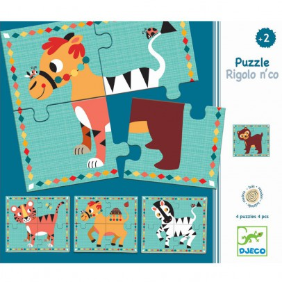 Djeco Puzzle Divertido n'co-listing