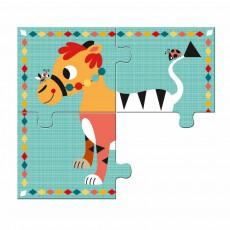 Djeco Puzzle Rigolo n'co-listing
