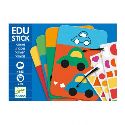 Djeco Edu stick shapes-product