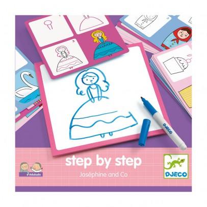 Djeco Imparare a disegnare Josephine & Co-listing