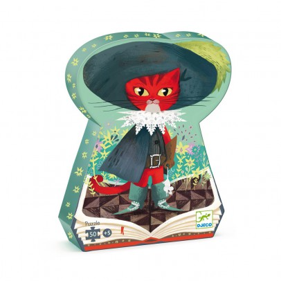 Djeco Puss in boots puzzle-listing
