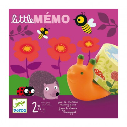 Djeco Little memo - Memory game-listing