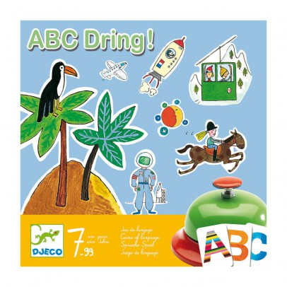 Djeco ABC Dring - Game of language-listing