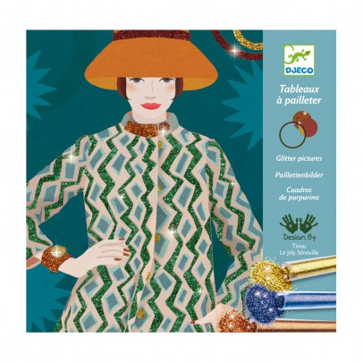 Djeco Costura fashion - Tablas de lentejuela-product