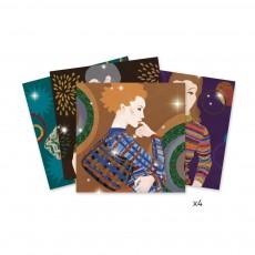 Djeco Couture fashion - Tablett mit Pailletten zum besetzen-listing