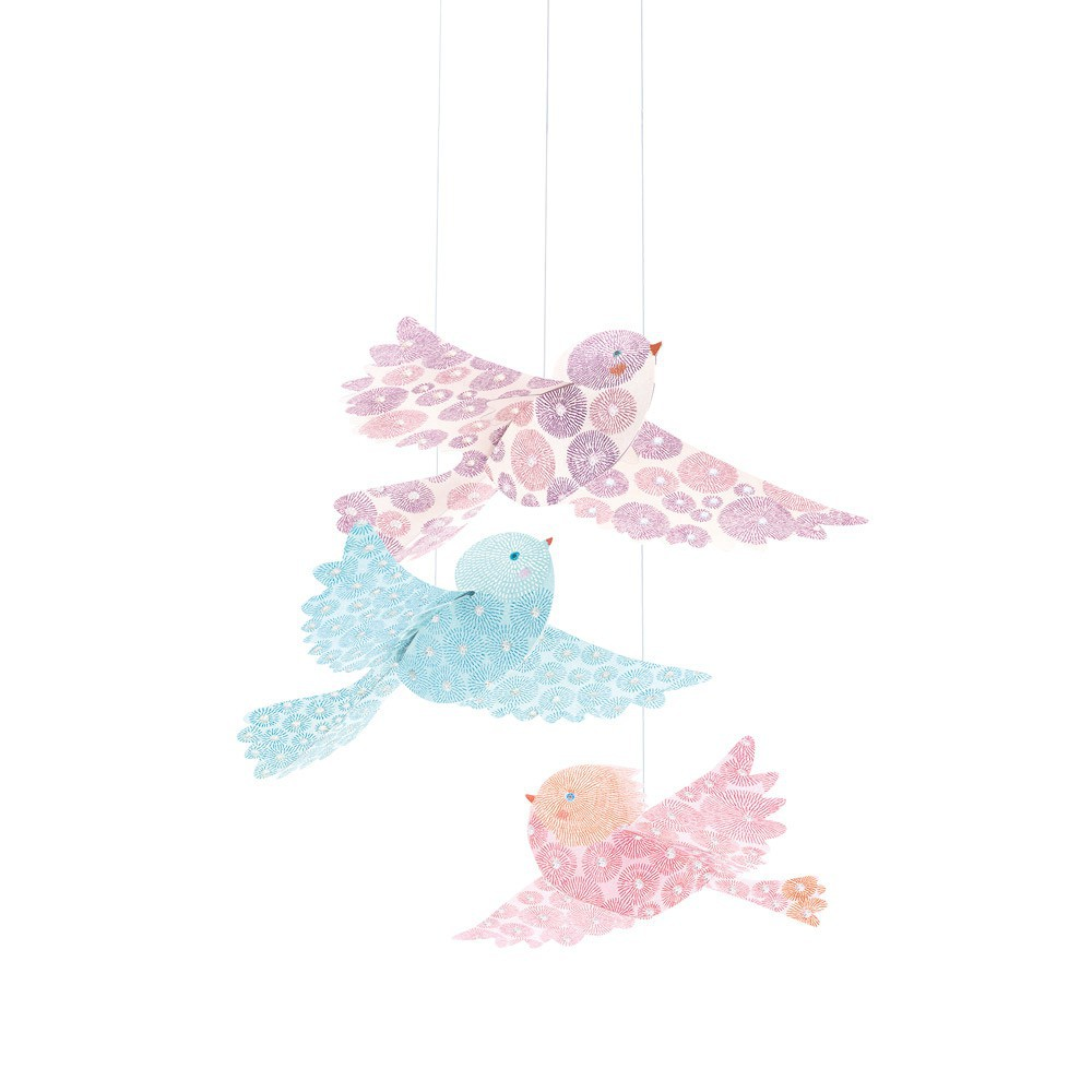 Djeco Glitter birds mobile-product