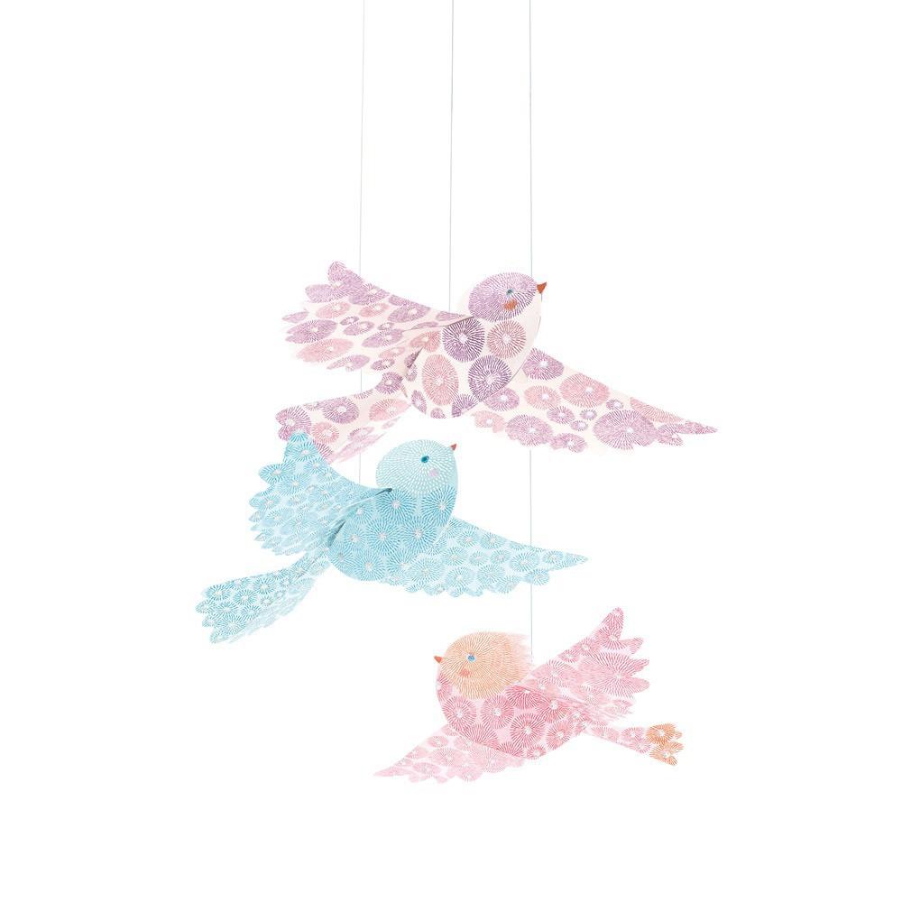 Mobile oiseaux paillettes-product
