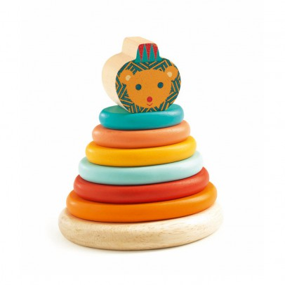 Djeco Junzo Lion toy to stimulate the senses-product