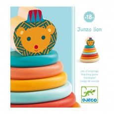 Djeco Junzo Lion toy to stimulate the senses-listing