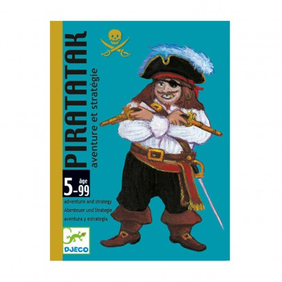 Djeco Piratatak card game-listing