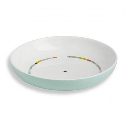 Atomic Soda Bandjo porcelaine  plate-listing