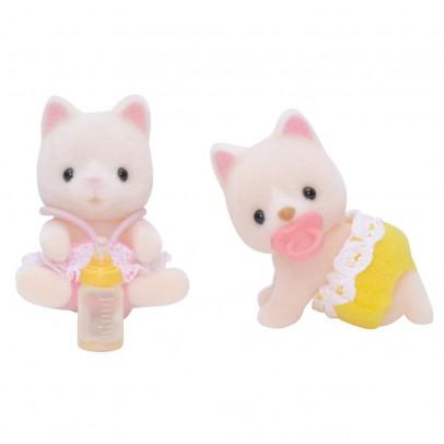 Sylvanian Jumeaux chats soie-listing