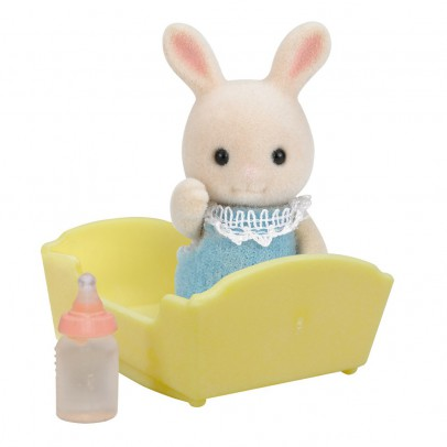 Sylvanian Baby Hase cremefarben-listing