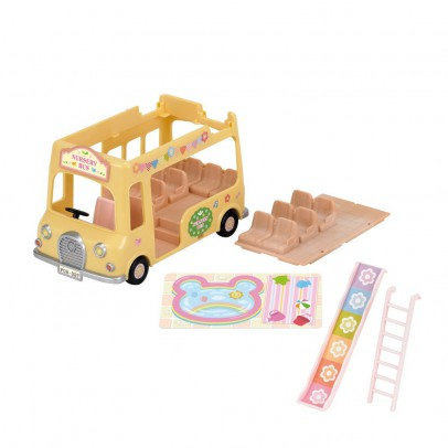 Sylvanian Nursery Double Decker Bus-listing
