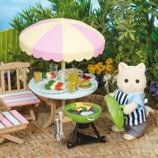 Sylvanian Set barbecue  de jardin-listing