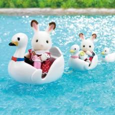 Sylvanian Swan Boat Set-listing