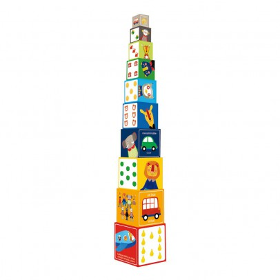 Moulin Roty Cubes à empiler Les Popipop-listing