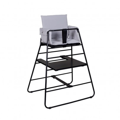 High Chair Cushion  Light Grey