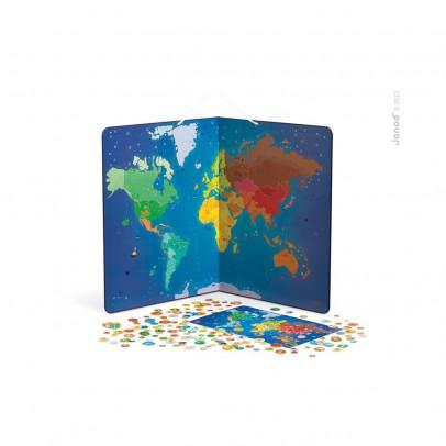 Janod Mappa del mondo magnetica -Animali-listing