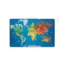 Janod Carte du monde magnétique - Animaux-listing