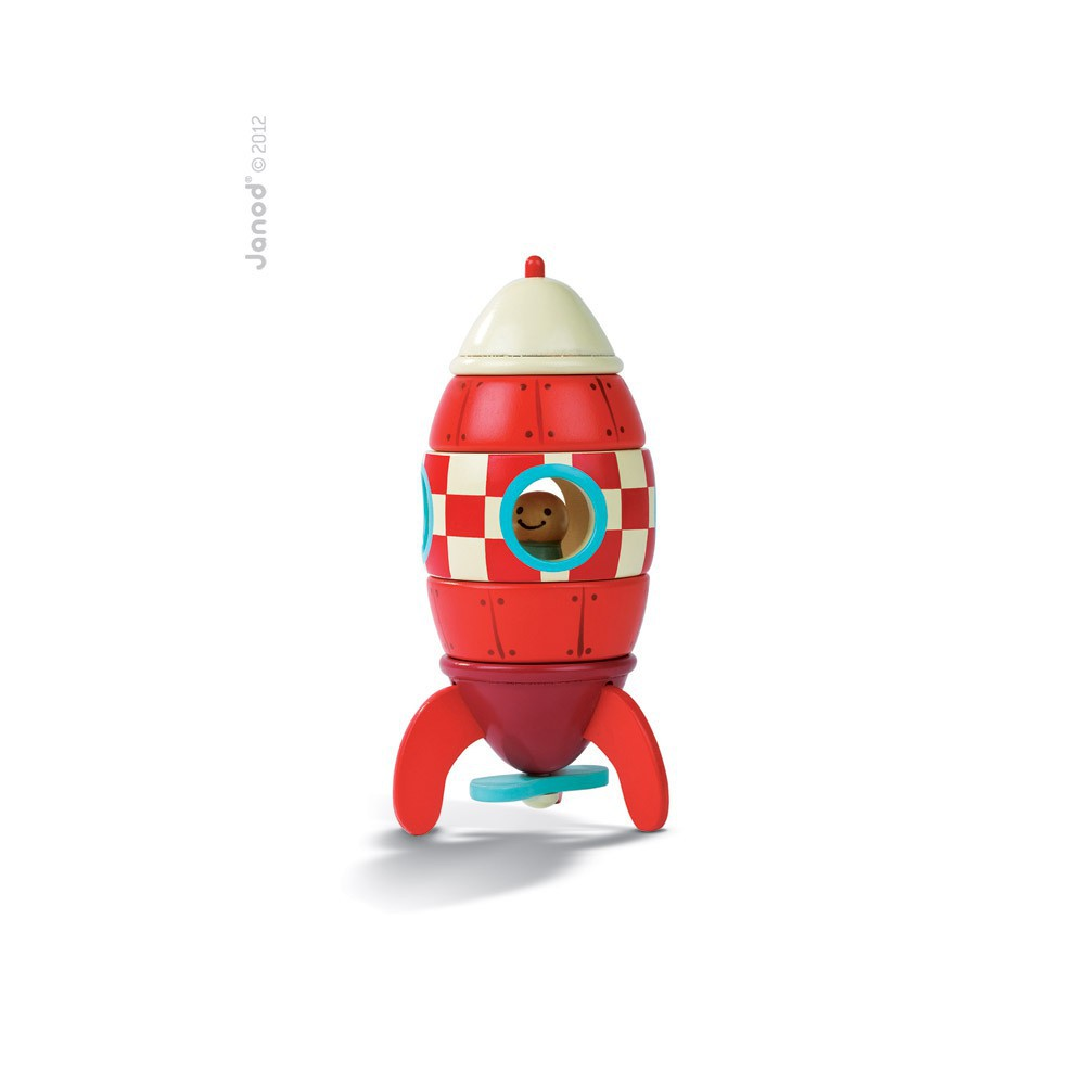 Janod Magnetic rocket-product