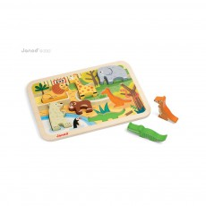 Janod Chunky zoo Puzzle -product