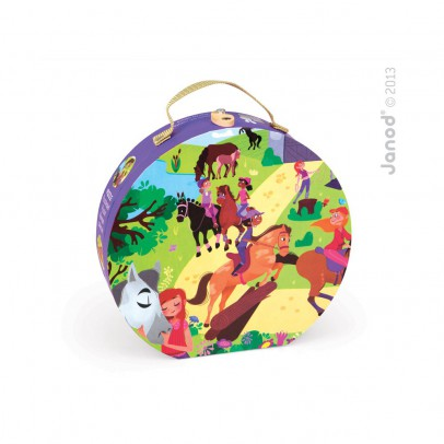 Janod Horse riding Puzzle-product