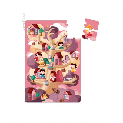 Janod Giant fairy tree puzzle-product