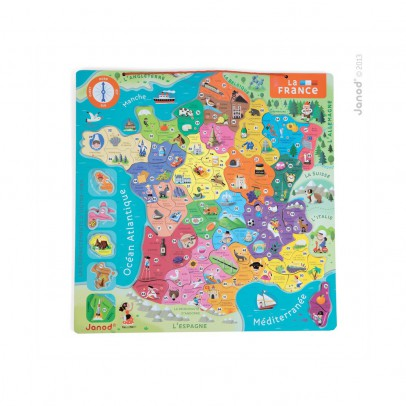 Janod Magnetic puzzle - France-listing