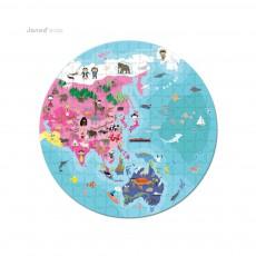Janod Puzzle Planet Vor- und Rückseite-listing