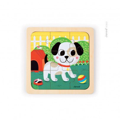 Janod Titus the dog puzzle-listing