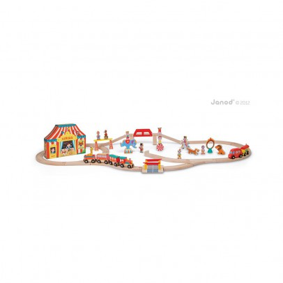 Janod Tren Express Circo-listing