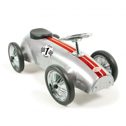 Vilac Ride-on racing car - silver-product