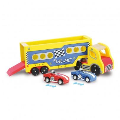Vilac Semi-remorque avec ses voitures à rétrofriction-listing