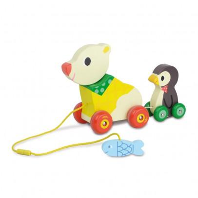 Vilac Oso y pingüino musical para arrastrar-listing