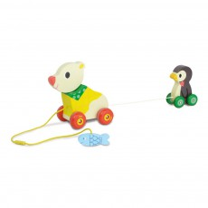 Vilac Ours et pingouin musical à trainer-listing