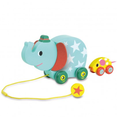Vilac Elefante y ratón musical para arrastrar-listing