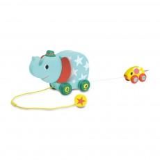 Vilac Elefante y ratón musical para arrastrar-product