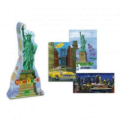 Vilac Puzzles New-York Nathalie Lété-product