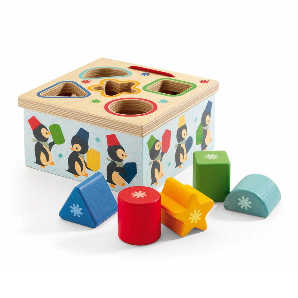 Djeco Geo Pingy box of shapes-product