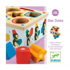 Djeco Caja de formas Geo Pingy-listing