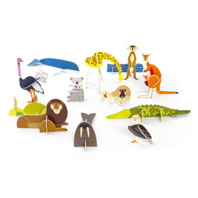 Studio Roof Animali selvaggi-listing