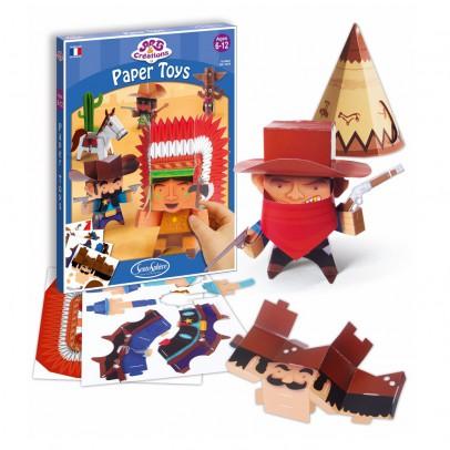 Sentosphère Wild West Paper Toys-listing