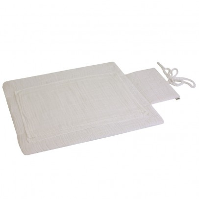 Numero 74 Travel changing mat - white-product