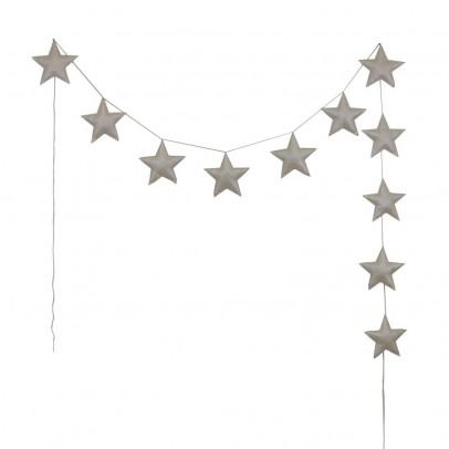 Numero 74 Guirlande mini-étoiles - Crème-listing