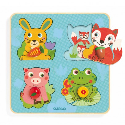 Djeco Croc-carrot puzzle-product