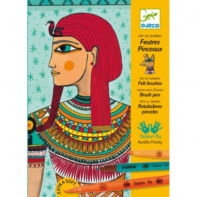 Djeco Coloriage - Art egyptien-listing