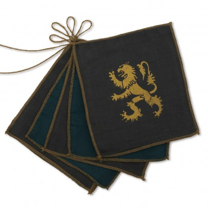 Numero 74 Knight bunting flags-listing