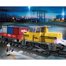 PLAYMOBIL® Neuer RC-Güterzug mit Licht und Sound 5258-listing