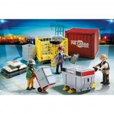 PLAYMOBIL® Ouvriers avec marchandises réf.5259-listing